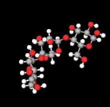Maltotriose unit of Pullulan chain